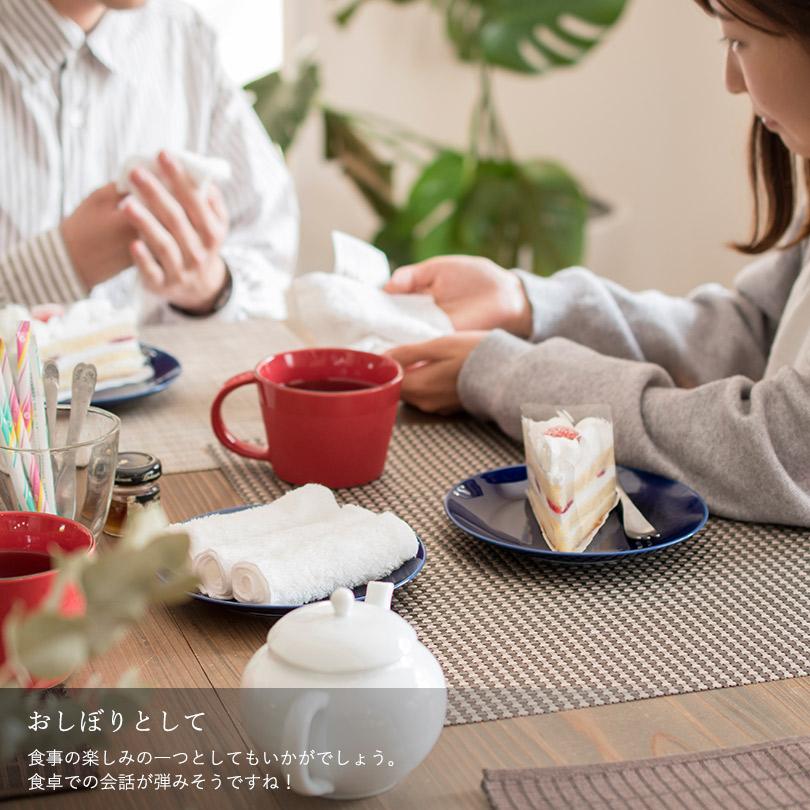 日本製 ハンドタオル おしぼり 雑学 おもてなし 洗面所