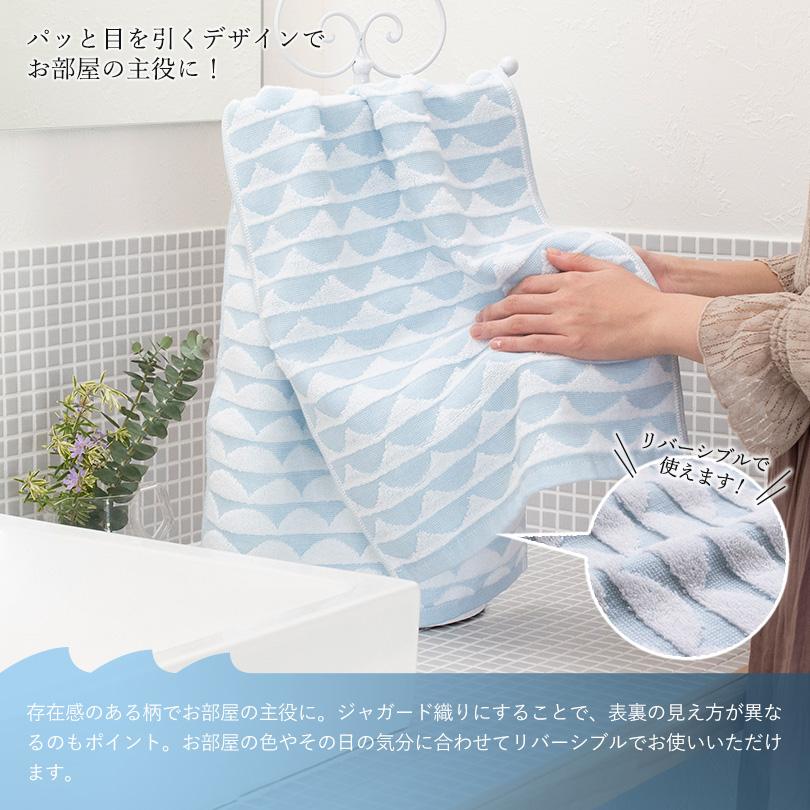 今治タオル バスタオル フェイスタオル 日本製 ブルー インテリア